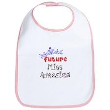 Future Miss America Bib