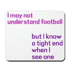 Understand Football Mousepad