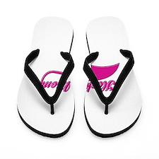 Hockey Mom designs Flip Flops