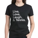 love and tennis Women's Dark T-Shirt