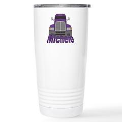 Trucker Michele Travel Mug