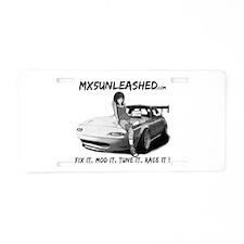 mx5unleashed Aluminum License Plate