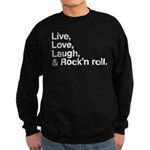 Rock and roll Sweatshirt (dark)