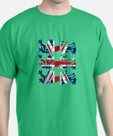 Three Lions Union Jack T-Shirt