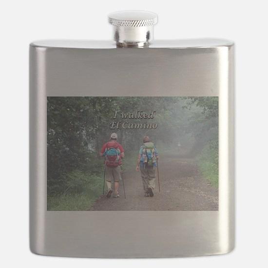 I walked El Camino, Spain, walkers 3 Flask