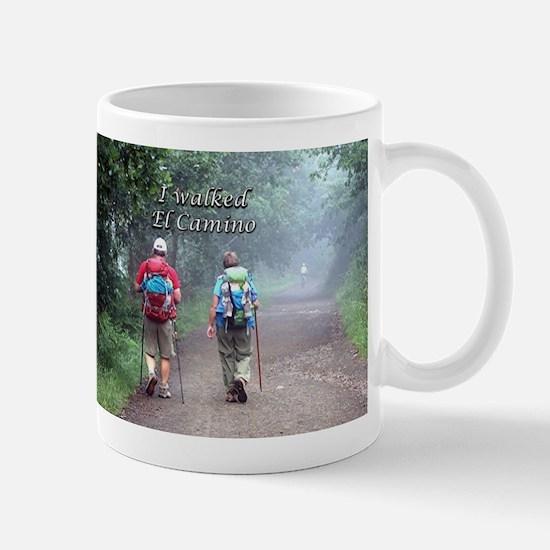 I walked El Camino, Spain, walkers 3 Mugs