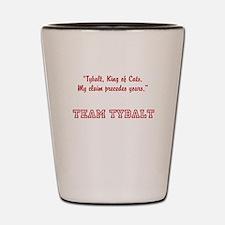 team tybalt Shot Glass