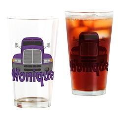 Trucker Monique Drinking Glass