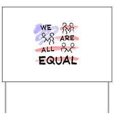 Flag Logo Yard Sign