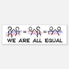 Equal Pairs Logo Bumper Bumper Sticker