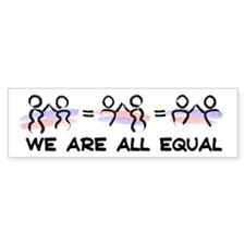 Equal Pairs Logo Bumper Sticker