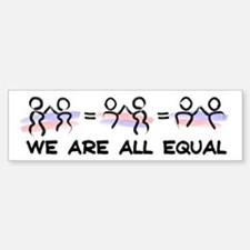 Equal Pairs Logo Sticker (Bumper)