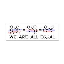 Equal Pairs Logo Car Magnet 10 x 3