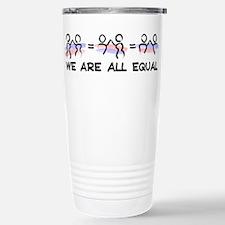 Equal Pairs Logo Stainless Steel Travel Mug