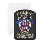 Montgomery County Police Greeting Cards (Package o