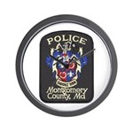 Montgomery County Police Wall Clock
