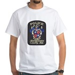 Montgomery County Police White T-Shirt