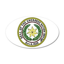 Great Seal of the Cherokee Nation Wall Decal