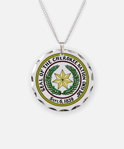 Great Seal of the Cherokee Nation Necklace