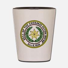 Great Seal of the Cherokee Nation Shot Glass