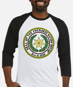 Great Seal of the Cherokee Nation Baseball Jersey