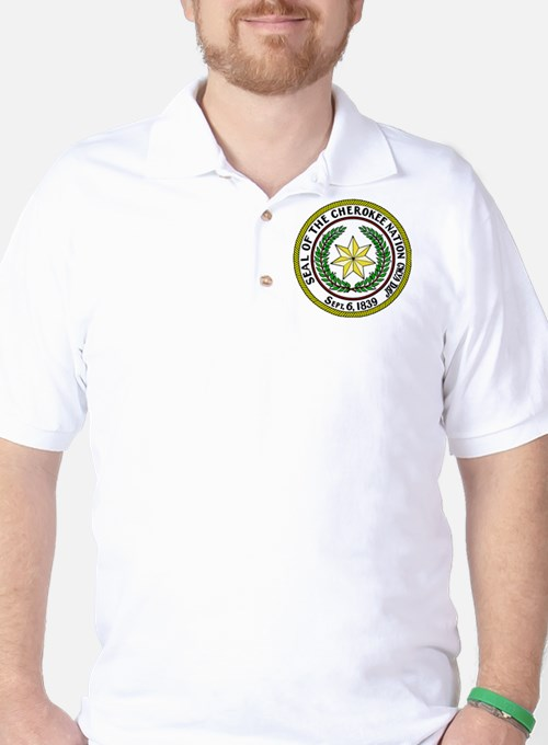 Great Seal of the Cherokee Nation Golf Shirt