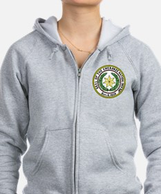 Great Seal of the Cherokee Nation Zip Hoodie