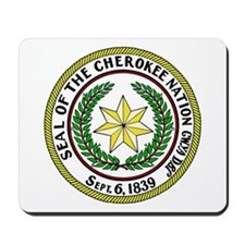 Great Seal of the Cherokee Nation Mousepad