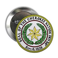 """Great Seal of the Cherokee Nation 2.25"""" Button"""