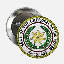 "Great Seal of the Cherokee Nation 2.25"" Button (10"