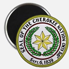 """Great Seal of the Cherokee Nation 2.25"""" Magnet (10"""