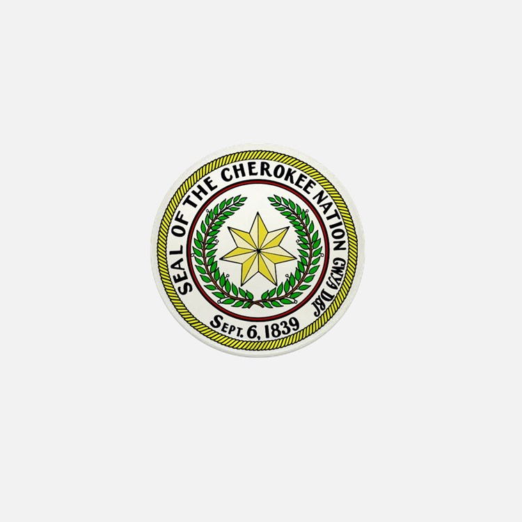 Great Seal of the Cherokee Nation Mini Button