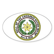Great Seal of the Cherokee Nation Decal