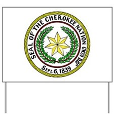 Great Seal of the Cherokee Nation Yard Sign