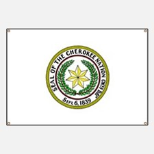 Great Seal of the Cherokee Nation Banner