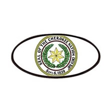 Great Seal of the Cherokee Nation Patches
