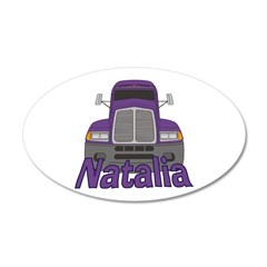 Trucker Natalia Wall Decal
