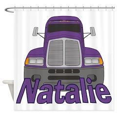 Trucker Natalie Shower Curtain