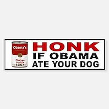 OBAMA DOG BUMPER Bumper Bumper Sticker