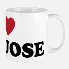 I Love San Jose California Mug