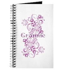 Grannie Grandma Flowered Journal