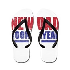 New Dad Rookie of the Year Flip Flops