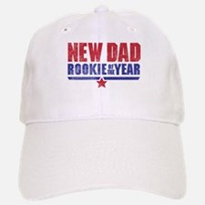 New Dad Rookie of the Year Baseball Baseball Cap