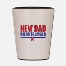 New Dad Rookie of the Year Shot Glass