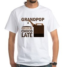 Grandpop Grandpa Chocolate Shirt