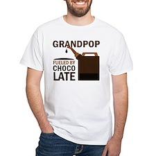 Grandpop Grandpa Chocolate Shirt