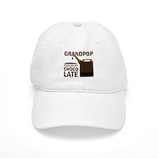 Grandpop Grandpa Chocolate Baseball Cap
