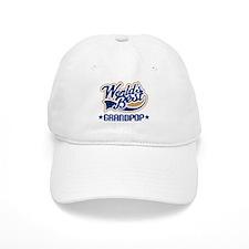 Worlds Best Grandpop Baseball Cap