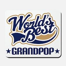 Worlds Best Grandpop Mousepad