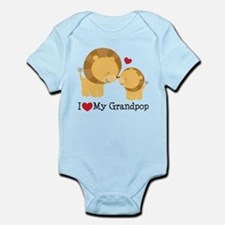 I Heart My Grandpop Infant Bodysuit